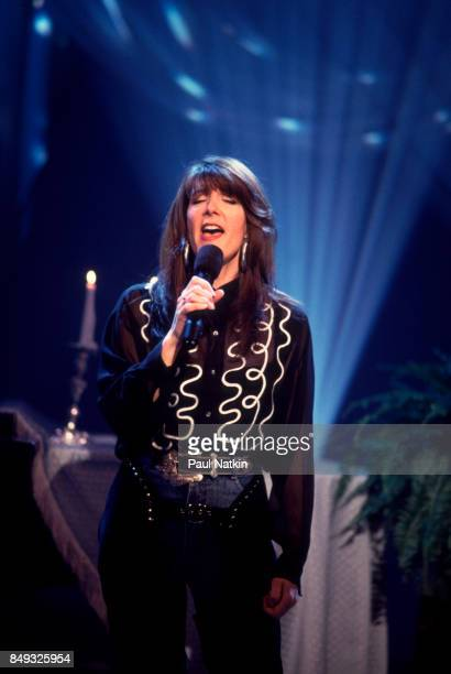 Kathy Mattea performing at the TNN Studios in NashvilleTennessee March 5 1995