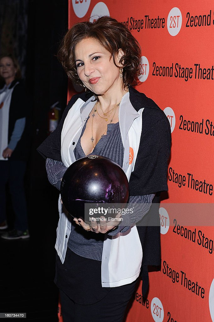 Kathy Najimy attends the Second Stage Theatre 2013 Bowling Classic at Lucky Strike on February 4, 2013 in New York City.