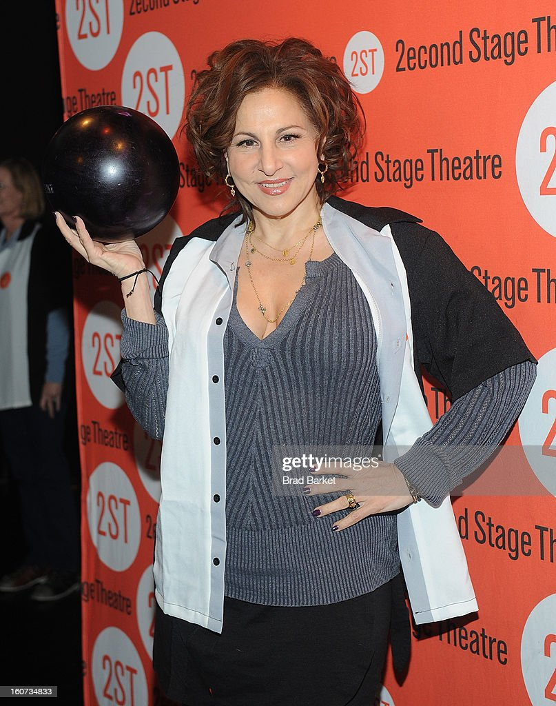 Kathy Najimy attends the Second Stage Theatre's 26th Annual All-Star Bowling Classic at Lucky Strike on February 04, 2013 in New York City.