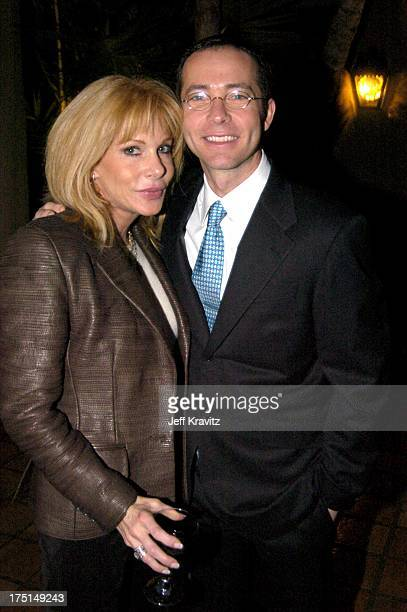 Kathy Nelson and Richard Lovett during Shoah Foundation Exclusive Event at Amblin Entertainment on Universal Studios in Universal City California...