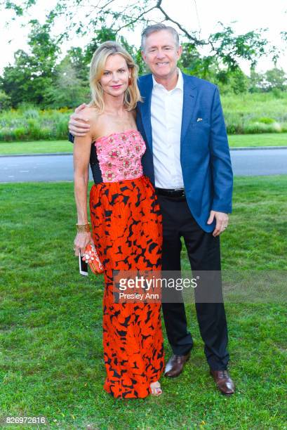 Kathy Ruland and Llyod Ruland attend Southampton Hospital 59th Annual Summer Party on August 5 2017 in Southampton New York