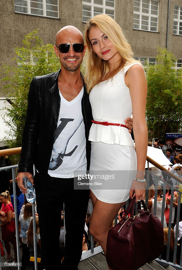 Kathy Sanchez and Peyman Amin attend the Gala Fashion Brunch at Ellington Hotel on July 5, 2013 in Berlin, Germany.