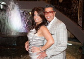 Kathy Wakile and Rich Wakile attend Posh Spring 2013 Fashion Show at Venetian on May 9 2013 in Garfield New Jersey