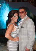 Kathy Wakile and Rich WKile attend Posh Spring 2013 Fashion Show at Venetian on May 9 2013 in Garfield New Jersey