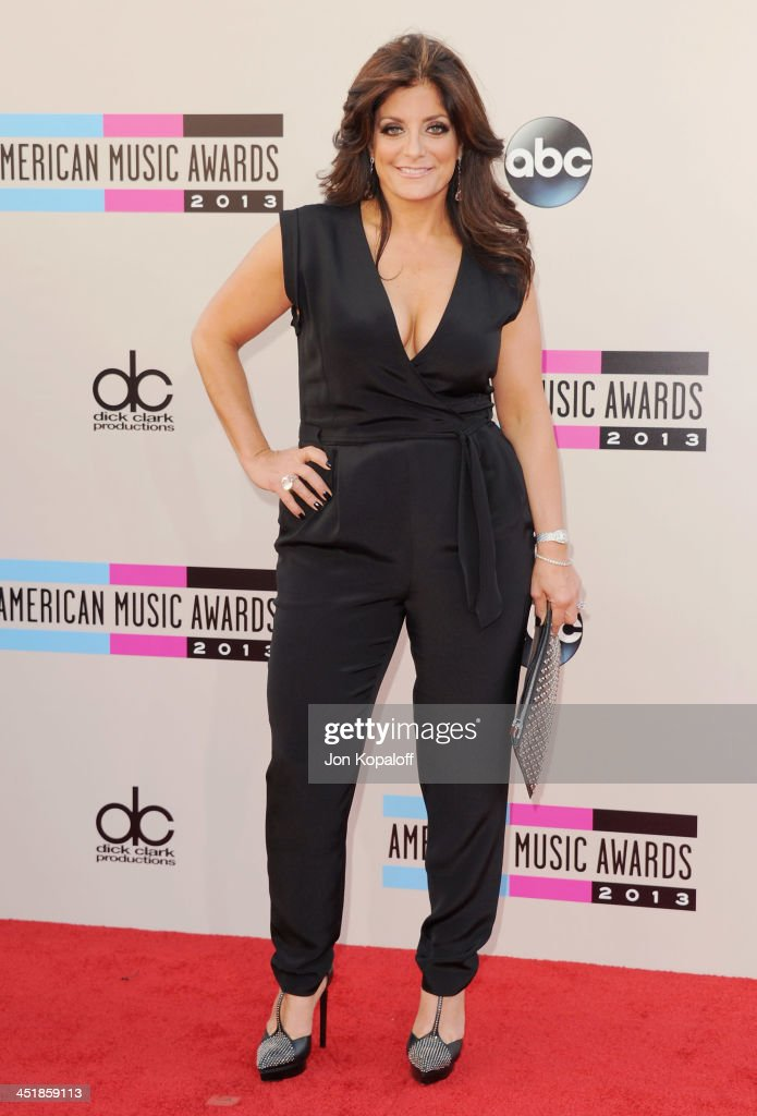 Kathy Wakile arrives at the 2013 American Music Awards at Nokia Theatre L.A. Live on November 24, 2013 in Los Angeles, California.