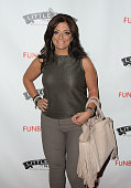 Kathy Wakile attends 'Little Town NJ' Restaurant Opening Hosted By The Manzo Brothers at Little Town NJ Restaurant on April 9 2013 in Hoboken New...