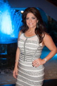 Kathy Wakile attends Posh Spring 2013 Fashion Show at Venetian on May 9 2013 in Garfield New Jersey