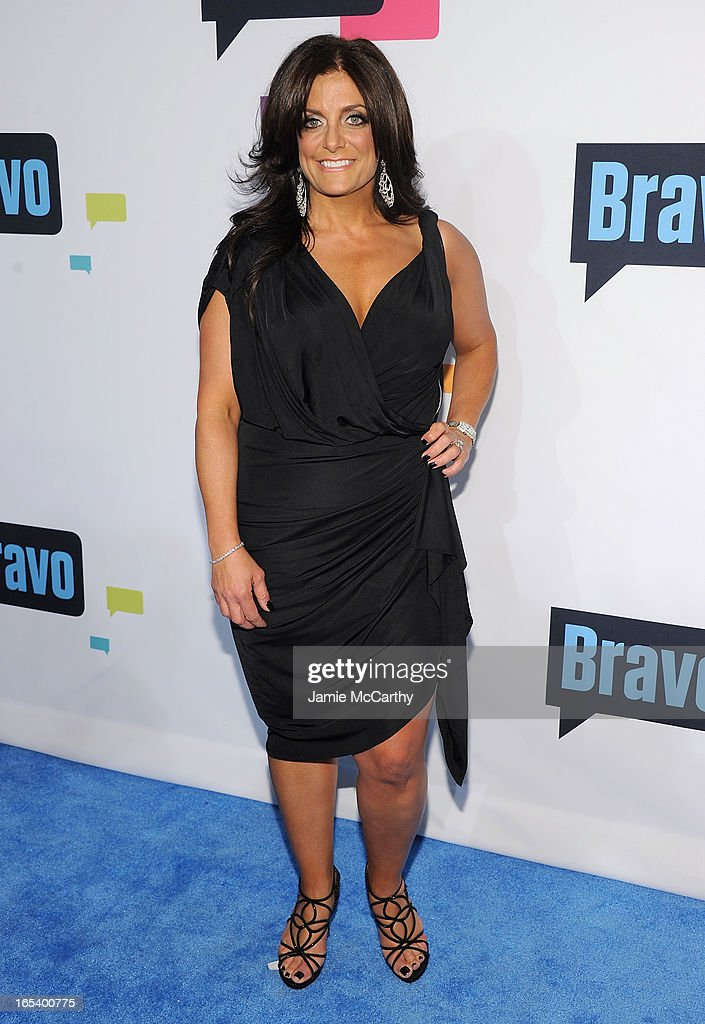 Kathy Wakile attends the 2013 Bravo New York Upfront at Pillars 37 Studios on April 3, 2013 in New York City.