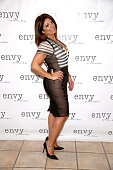Kathy Wakile attends the envy By Melissa Gorga Fashion Show at Macaluso's on March 30 2016 in Hawthorne New Jersey