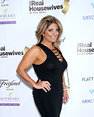 Kathy Wakile attends the 'Real Housewives Of New Jersey' Season 7 Premiere Party at Molos on July 10 2016 in Weehawken New Jersey