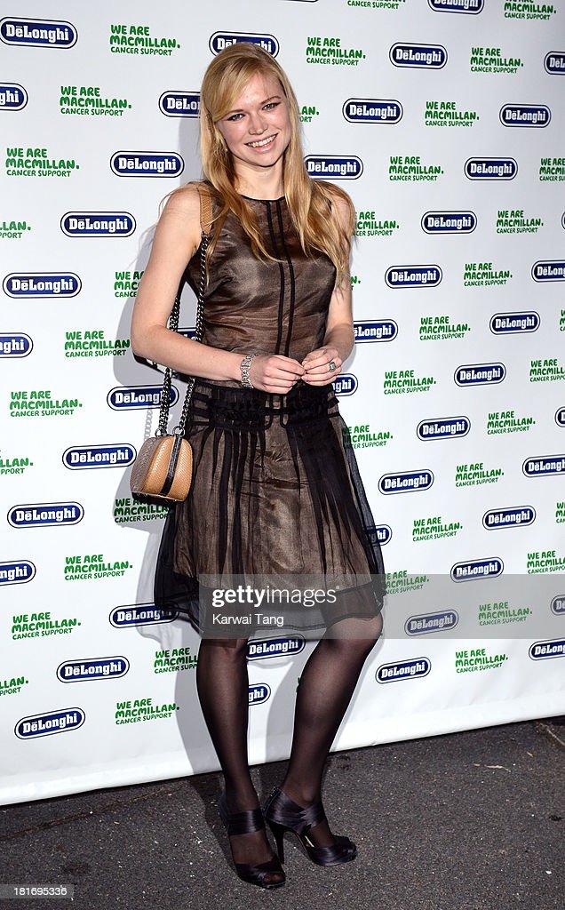 Katia Elizarova attends the Macmillan De'Longhi Art auction 2013 at Royal Academy of Arts on September 23, 2013 in London, England.