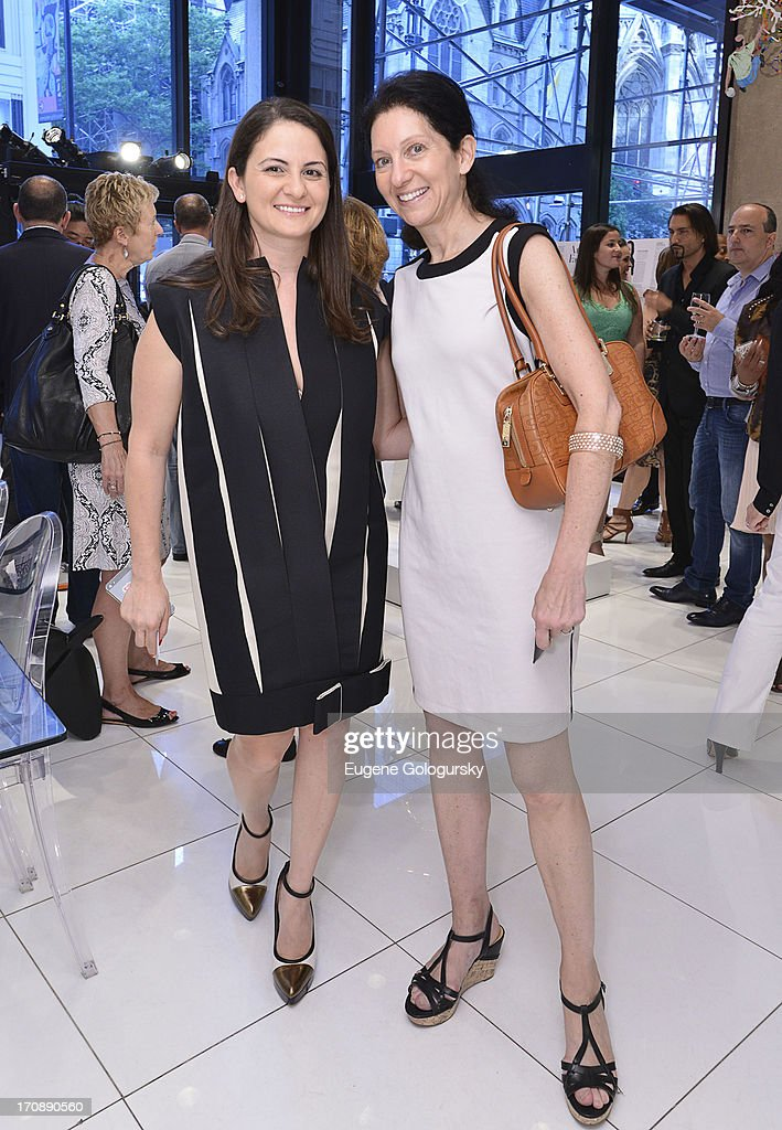 Katia Klimovsky and Isabelle Kellogg attend the Gotham Magazine Celebration of Its Featured Amazing Faces Of NYC Beauties on June 19, 2013 in New York City.