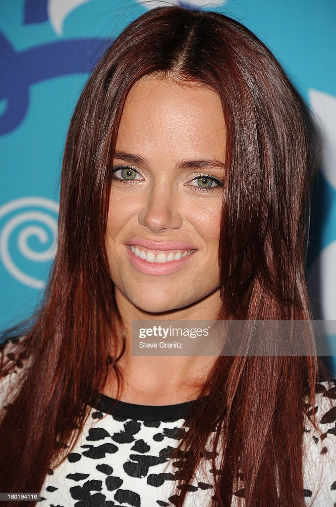 Katia Winter arrives at the 2013 Fox Fall Eco-Casino Party at The Bungalow on September 9, 2013 in Santa Monica, California.