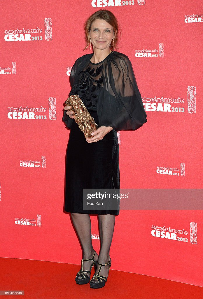 Katia Wyszkop attends the Awards Room - Cesar Film Awards 2013 at the Theatre du Chatelet on February 22, 2013 in Paris, France. s
