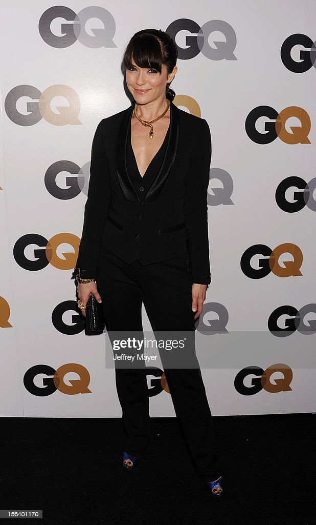 Katie Aselton arrives at the GQ Men Of The Year Party at Chateau Marmont Hotel on November 13, 2012 in Los Angeles, California.