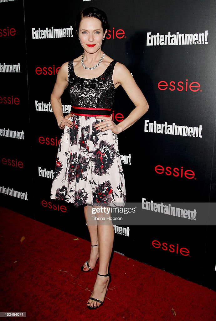 <a gi-track='captionPersonalityLinkClicked' href=/galleries/search?phrase=Katie+Aselton&family=editorial&specificpeople=6457083 ng-click='$event.stopPropagation()'>Katie Aselton</a> attends the Entertainment Weekly SAG Awards pre-party at Chateau Marmont on January 17, 2014 in Los Angeles, California.