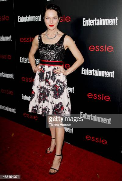 Katie Aselton attends the Entertainment Weekly SAG Awards preparty at Chateau Marmont on January 17 2014 in Los Angeles California