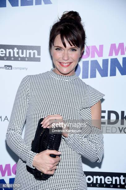 Katie Aselton attends the screening Of 'Fun Mom Dinner' at Landmark Sunshine Cinema on August 1 2017 in New York City