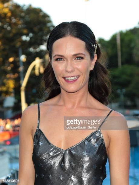 Katie Aselton is seen on July 12 2017 in Los Angeles California