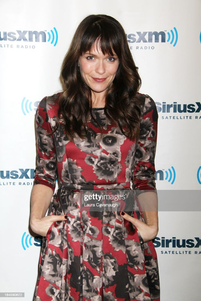 <a gi-track='captionPersonalityLinkClicked' href=/galleries/search?phrase=Katie+Aselton&family=editorial&specificpeople=6457083 ng-click='$event.stopPropagation()'>Katie Aselton</a> visits SiriusXM Studios on October 14, 2013 in New York City.