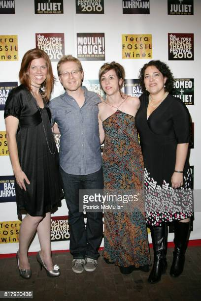 Katie Avabe Anthony Rapp Chris Henry and Mary Bernardi attend THE NEW YORK THEATRE FESTIVAL 2010 OPENING NIGHT GALA at Hudson Terrace on September 27...