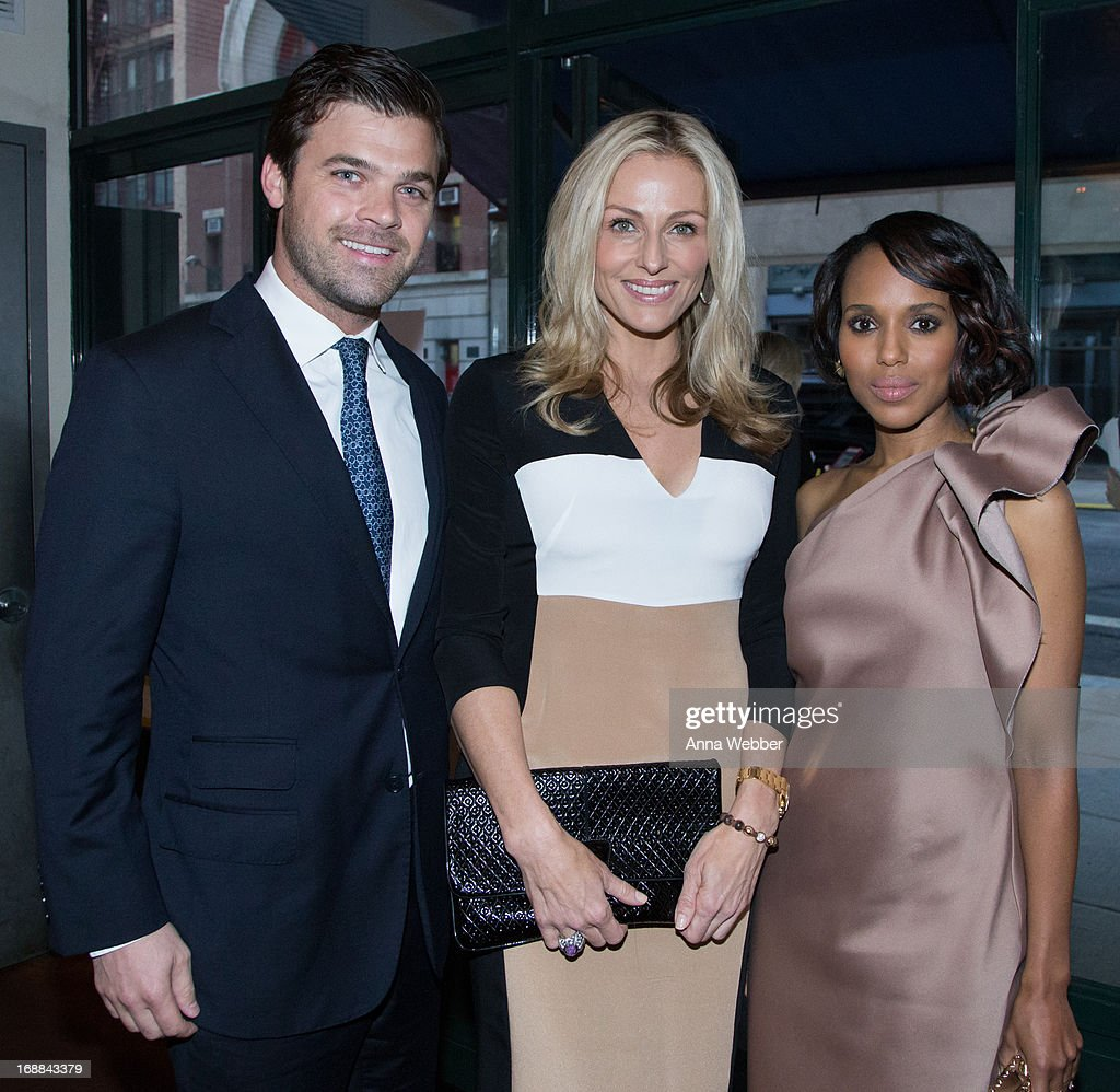 Katie Betts (C)and <a gi-track='captionPersonalityLinkClicked' href=/galleries/search?phrase=Kerry+Washington&family=editorial&specificpeople=201534 ng-click='$event.stopPropagation()'>Kerry Washington</a> (R) attend ELLE & Tod's Celebrate <a gi-track='captionPersonalityLinkClicked' href=/galleries/search?phrase=Kerry+Washington&family=editorial&specificpeople=201534 ng-click='$event.stopPropagation()'>Kerry Washington</a> at Il Buco Alimentari & Vineria on May 15, 2013 in New York City.