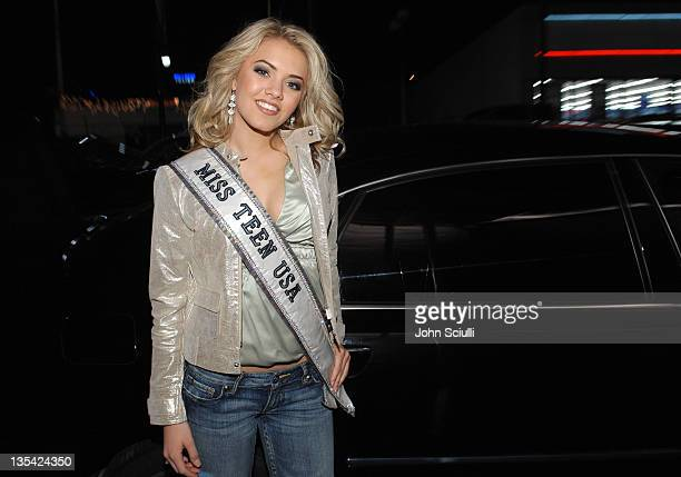 Katie Blair Miss Teen USA 2006 during Hollywood Life's Breakthrough of the Year Awards Audi Arrivals at Music Box in Los Angeles California United...