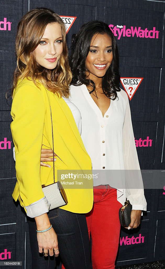 <a gi-track='captionPersonalityLinkClicked' href=/galleries/search?phrase=Katie+Cassidy&family=editorial&specificpeople=569891 ng-click='$event.stopPropagation()'>Katie Cassidy</a> (L) and <a gi-track='captionPersonalityLinkClicked' href=/galleries/search?phrase=Annie+Ilonzeh&family=editorial&specificpeople=6860834 ng-click='$event.stopPropagation()'>Annie Ilonzeh</a> arrive at the People StyleWatch Hollywood denim party held at Palihouse Holloway on September 20, 2012 in West Hollywood, California.
