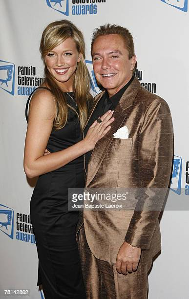 Katie Cassidy and David Cassidy arrive at the 9th annual Family Television Awards held at the Beverly Hilton Hotel on November 28 2007 in Los Angeles...