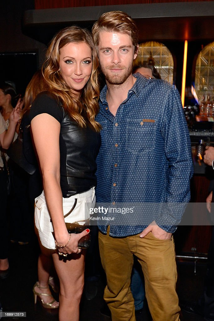 <a gi-track='captionPersonalityLinkClicked' href=/galleries/search?phrase=Katie+Cassidy&family=editorial&specificpeople=569891 ng-click='$event.stopPropagation()'>Katie Cassidy</a> and Luke Mitchell attend The CW Network's 2013 Upfront party at FINALE on May 16, 2013 in New York City.