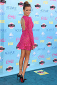 Katie Cassidy arrives at the 2013 Teen Choice Awards at Gibson Amphitheatre on August 11 2013 in Universal City California