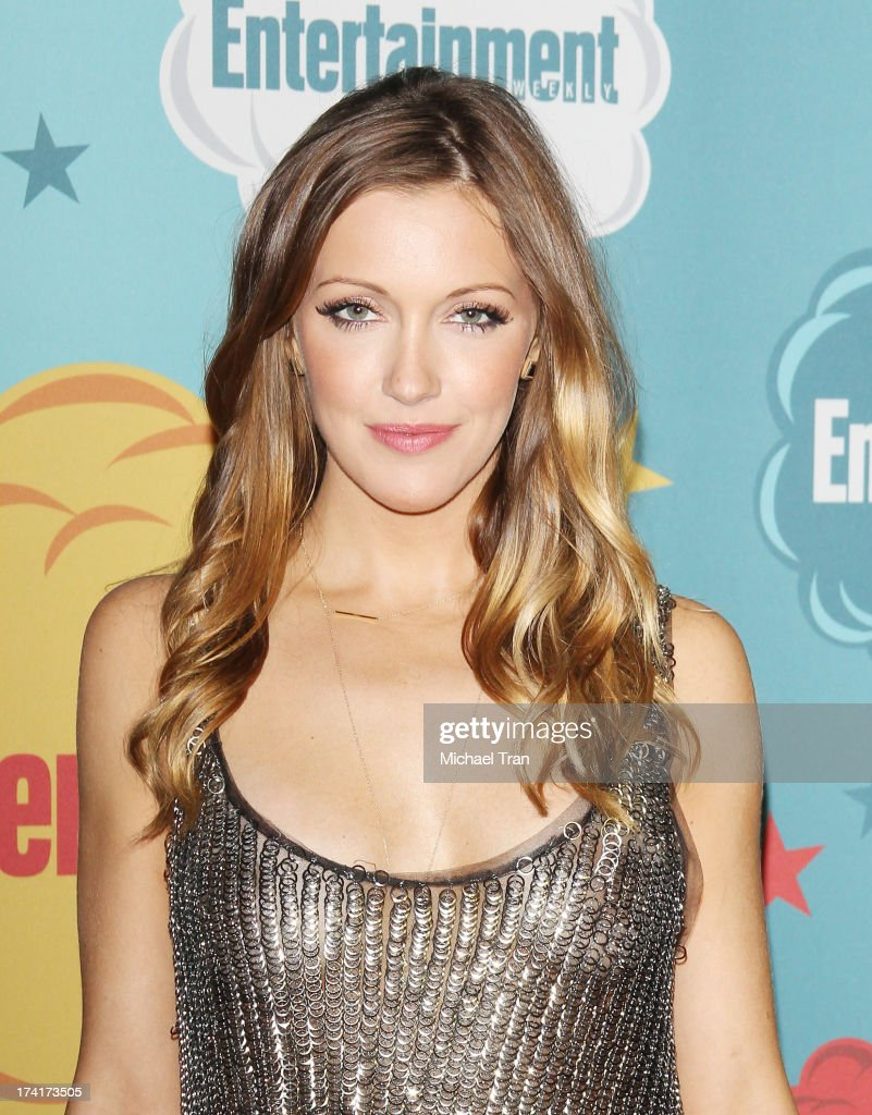 Katie Cassidy arrives at the Entertainment Weekly's Annual Comic-Con celebration held at Float at Hard Rock Hotel San Diego on July 20, 2013 in San Diego, California.