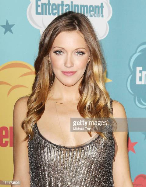 Katie Cassidy arrives at the Entertainment Weekly's Annual ComicCon celebration held at Float at Hard Rock Hotel San Diego on July 20 2013 in San...
