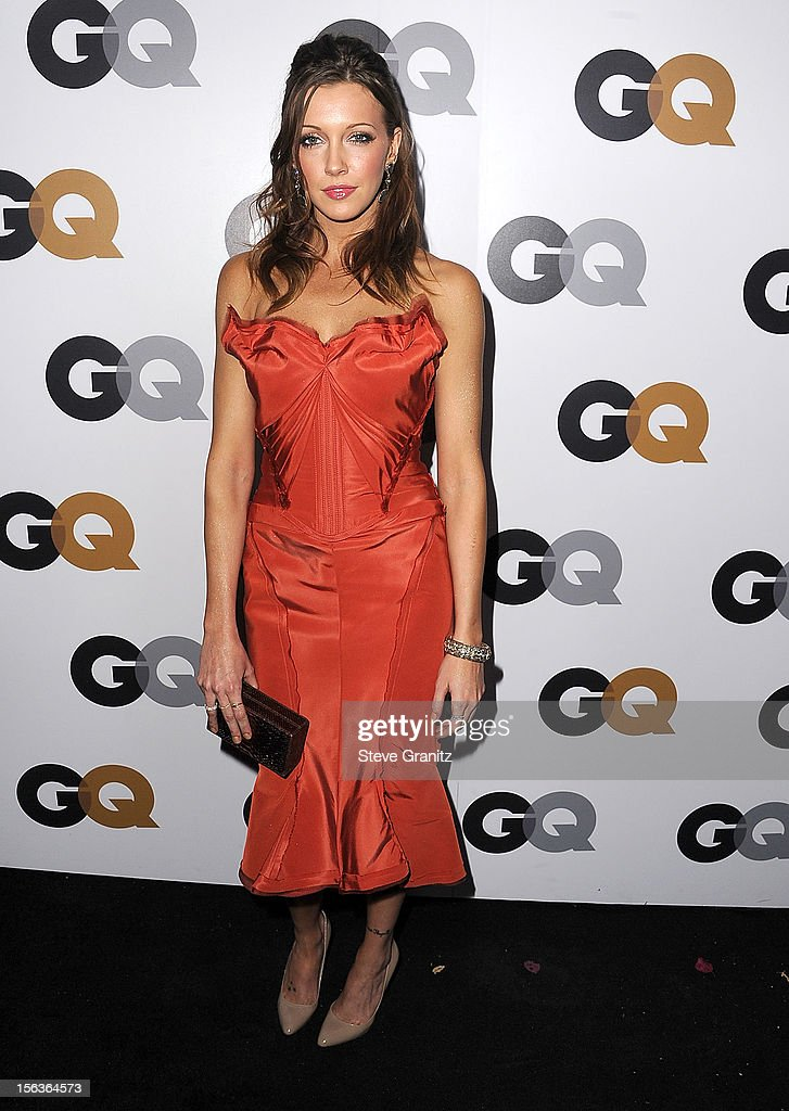 Katie Cassidy arrives at the GQ Men Of The Year Party at Chateau Marmont on November 13, 2012 in Los Angeles, California.