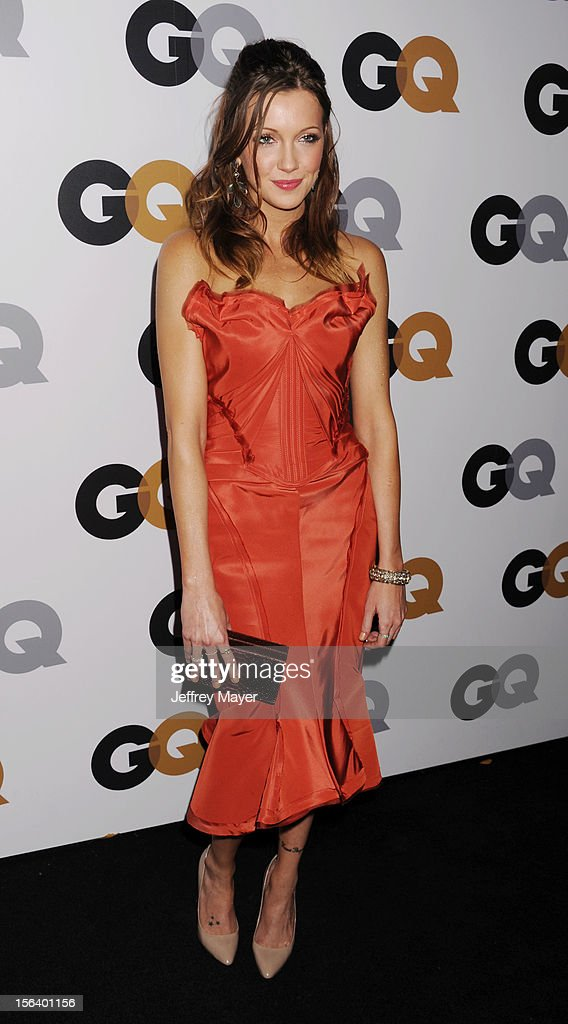 Katie Cassidy arrives at the GQ Men Of The Year Party at Chateau Marmont Hotel on November 13, 2012 in Los Angeles, California.
