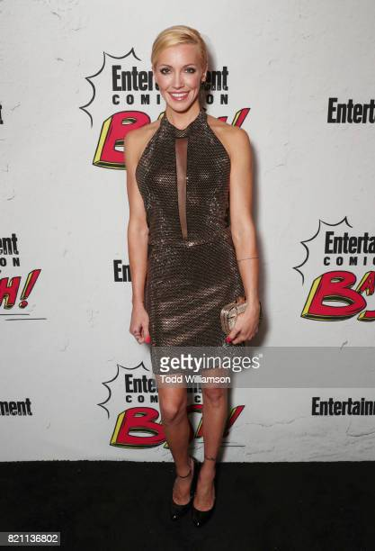 Katie Cassidy at Entertainment Weekly's annual ComicCon party in celebration of ComicCon 2017 at Float at Hard Rock Hotel San Diego on July 22 2017...