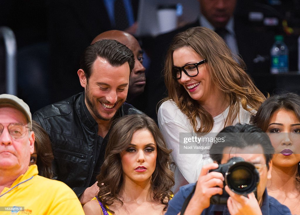 <a gi-track='captionPersonalityLinkClicked' href=/galleries/search?phrase=Katie+Cassidy&family=editorial&specificpeople=569891 ng-click='$event.stopPropagation()'>Katie Cassidy</a> attends a basketball game between the Toronto Raptors and Los Angeles Lakers at Staples Center on March 8, 2013 in Los Angeles, California.