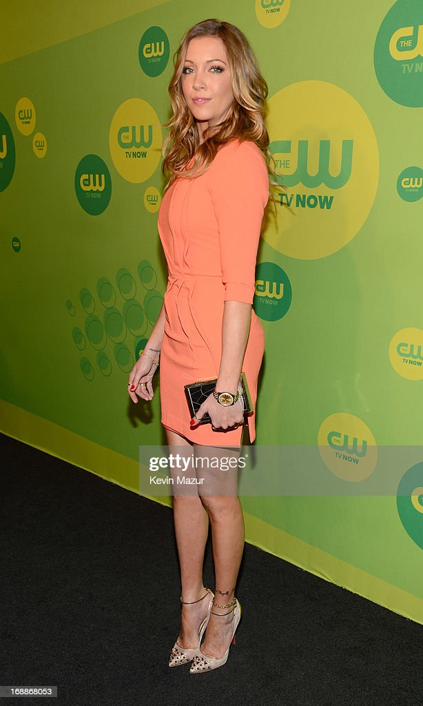 Katie Cassidy attends the CW Network's 2013 Upfront at The London Hotel on May 16, 2013 in New York City.