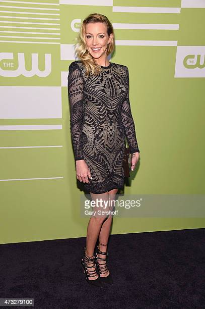 Katie Cassidy attends the CW Network's New York 2015 Upfront Presentation at The London Hotel on May 14 2015 in New York City