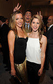 Katie Cassidy Colton Haynes and Emily Bett Rickards attend The CW Network's 2014 Upfront at New York City Center on May 15 2014 in New York City