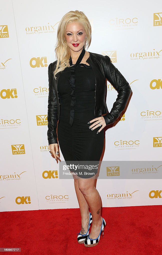 Katie Cazorla attends the OK! Magazine Pre-GRAMMY Party at the Sound Nightclub on February 7, 2013 in Hollywood, California.