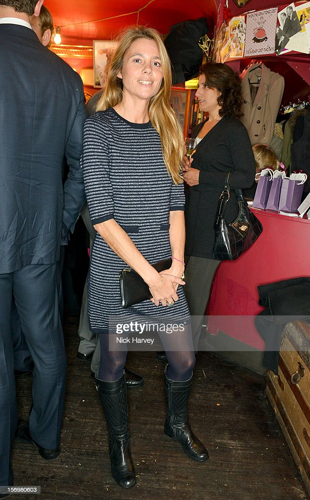 Katie Cecil attends a party to celebrate the best of W&W Jewellery at Barts bar on November 26, 2012 in London, England.