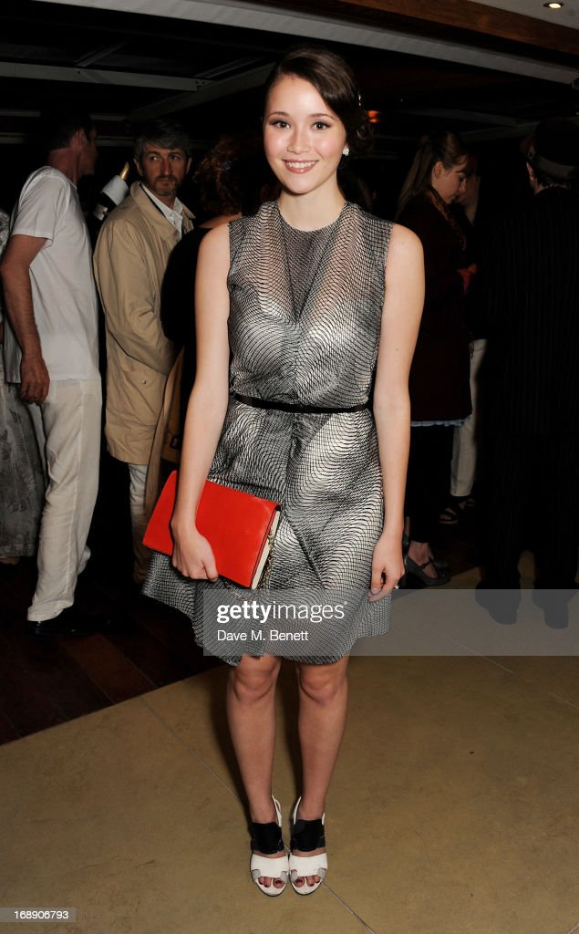 Katie Chang attends the IFP, Calvin Klein Collection & Euphoria Calvin Klein celebration of Women In Film At The 66th Cannes Film Festival on May 16, 2013 in Cannes, France.