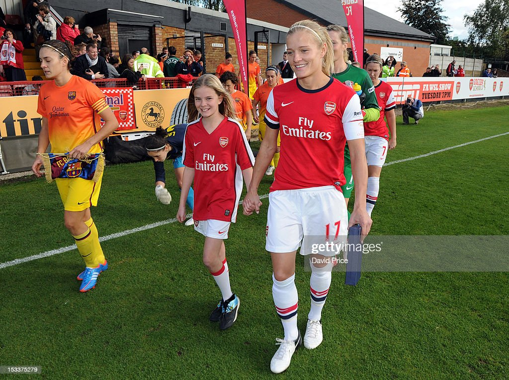 Arsenal ladies fc v barcelona uefa women 39 s champions league round of 32 second leg getty images - Forlady barcelona ...