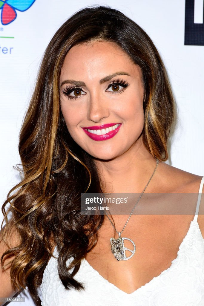Katie Cleary arrives at the Dream Builders Project's 'A Brighter Future For Children' benefit at H.O.M.E. on March 15, 2014 in Beverly Hills, California.