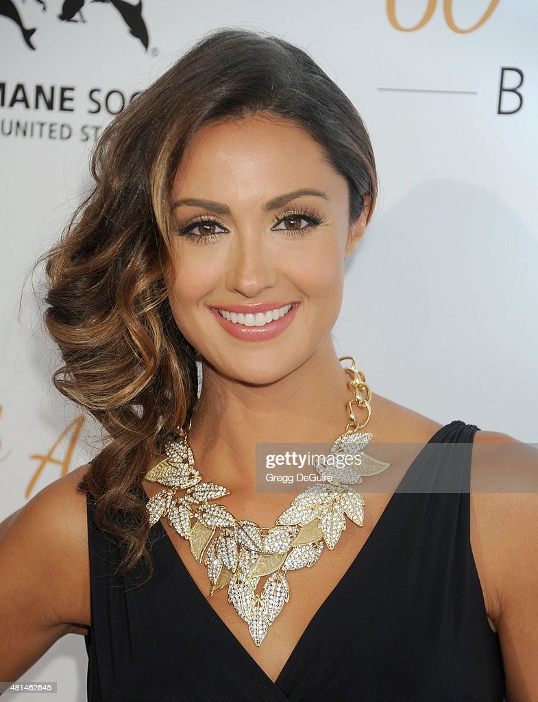 Katie Cleary arrives at The Humane Society Of The United States 60th anniversary benefit gala at The Beverly Hilton Hotel on March 29, 2014 in Beverly Hills, California.