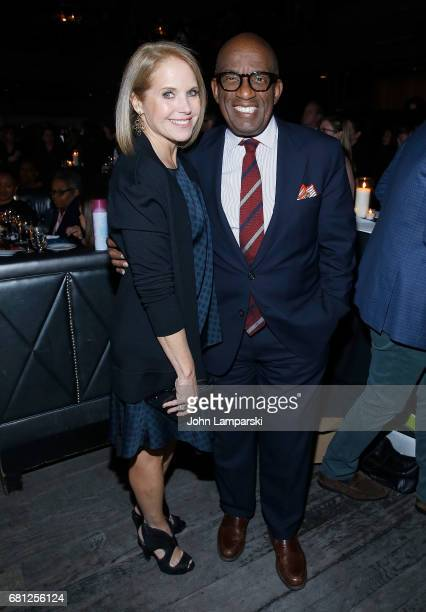 Katie Couric and Al Roker attends 2017 Child Mind Institute Change Maker Awards at Highline Ballroom on May 9 2017 in New York City