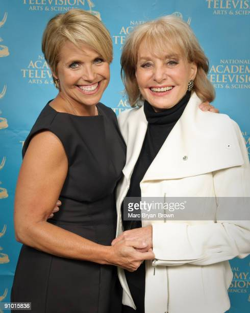 COVERAGE*** Katie Couric and Barbara Walters attend the 30th annual News Documentary Emmy Awards at Frederick P Rose Hall Jazz at Lincoln Center on...