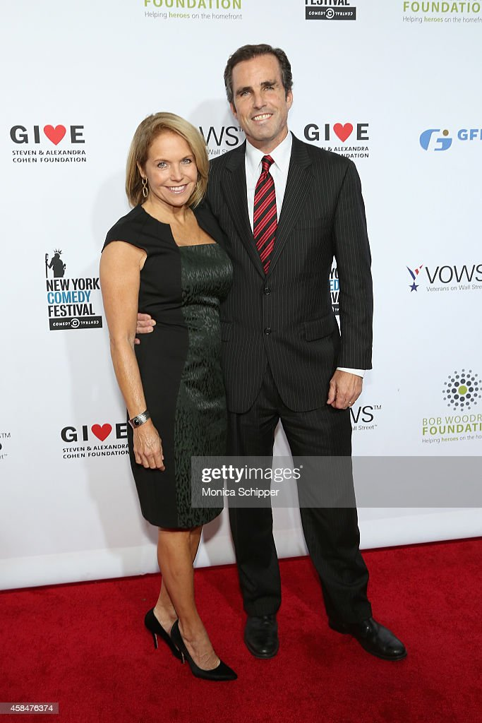 <a gi-track='captionPersonalityLinkClicked' href=/galleries/search?phrase=Katie+Couric&family=editorial&specificpeople=202633 ng-click='$event.stopPropagation()'>Katie Couric</a> (L) and <a gi-track='captionPersonalityLinkClicked' href=/galleries/search?phrase=Bob+Woodruff&family=editorial&specificpeople=785978 ng-click='$event.stopPropagation()'>Bob Woodruff</a> attend 2014 Stand Up For Heroes at Madison Square Garden on November 5, 2014 in New York City.