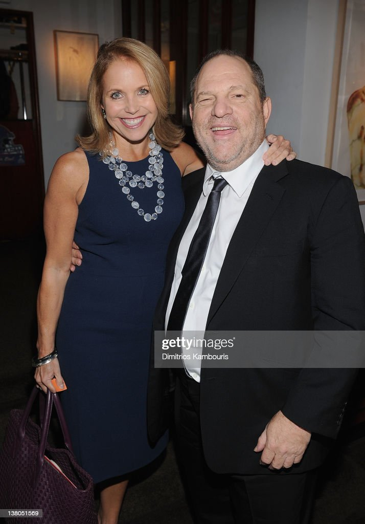 <a gi-track='captionPersonalityLinkClicked' href=/galleries/search?phrase=Katie+Couric&family=editorial&specificpeople=202633 ng-click='$event.stopPropagation()'>Katie Couric</a> and <a gi-track='captionPersonalityLinkClicked' href=/galleries/search?phrase=Harvey+Weinstein&family=editorial&specificpeople=201749 ng-click='$event.stopPropagation()'>Harvey Weinstein</a> attend the New York Giants Super Bowl Pep Rally Luncheon at Michael's on February 1, 2012 in New York City.